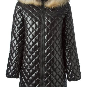 Duvetica quilted parka coat