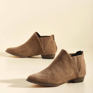 Good Shoes Travel Fast Bootie