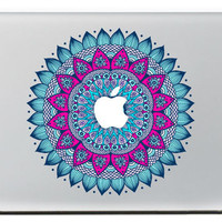 The decorative pattern of blue laptop Protection skin For Vinyl Decal Macbook sticker 13 15 Pro/Air/Retina MC-046