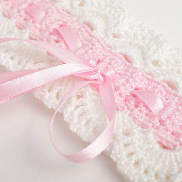 Handmade openwork headband children hair accessories beautiful headband