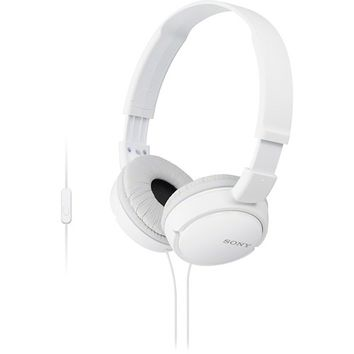 Sony - ZX Series On-Ear Headphones - White