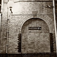 Platform 9 3/4 King's Cross Station London England by kylespears