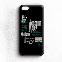 HIMYM LEGENDARY QUOTE BLACK iPhone 5C Case Wijayanty.com