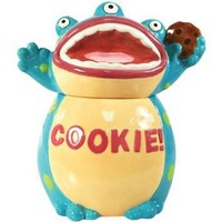 Westland Giftware Kookie Jars Cookie Monster Cookie Jar, 10-1/2-Inch