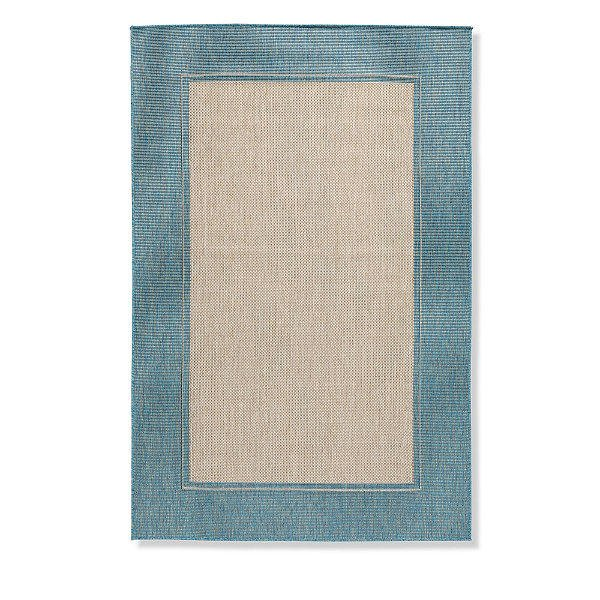 Classic Border Outdoor Rug from Grandin Road