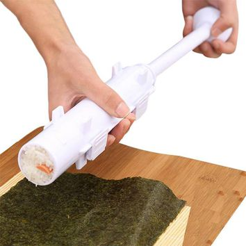 Make Sushi Roller Kitchen Sushi Mold Maker Bazooka Rice Meat Vegetables DIY Making Kitchen Gadgets Accessories Supplies Stuff