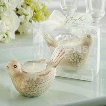 pcs    Unique  Wedding  Favors      Tealight  Candle