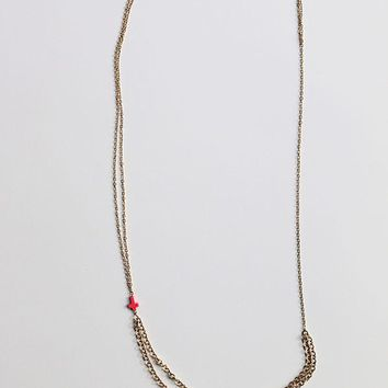 Double Cord Necklace