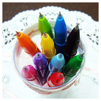Design somerz Rainbow Gel Pen 0.38mm 11 colors