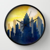 City Heat Wave Wall Clock by Tjc555