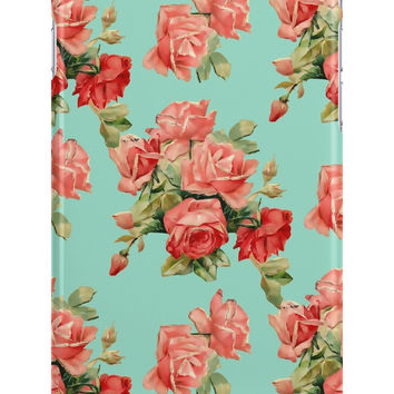 Vintage Rose Garden Flower Pattern by sale