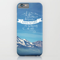 daring adventure iPhone & iPod Case by Sylvia Cook Photography