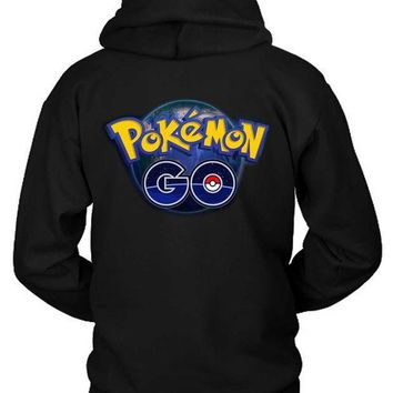 Pokemon Go Art Cover Hoodie Two Sided