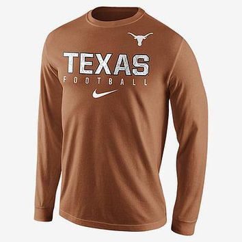 Men's Nike Texas Longhorns Long Sleeve T-Shirt - Sizes XXL  XL  Large