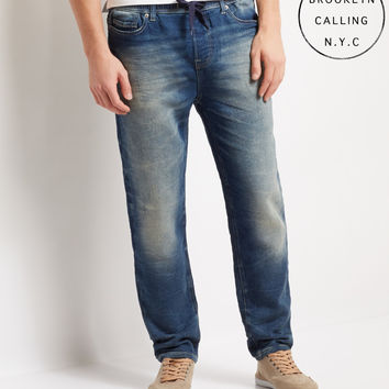Brooklyn Calling Medium Wash Jogger Jean