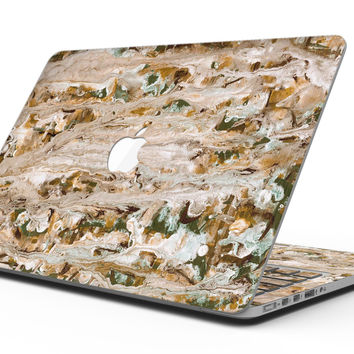 Abstract Wet Paint Vintage - MacBook Pro with Retina Display Full-Coverage Skin Kit