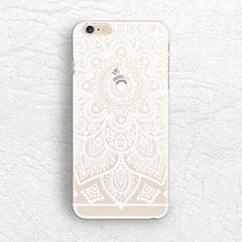 Aztec Mandala matte transparent phone case for iPhone 6/6s, Sony z3 z4, HTC one M9, LG G4, Samsung S6, Moto X 2nd gen soft clear case -P50