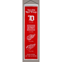 Detroit Red WIngs NHL Heritage Banner (8x32)