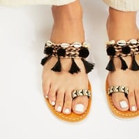 Free People Kopi Embellished Sandal