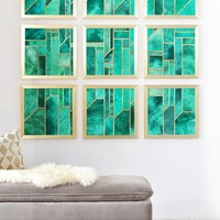 Elisabeth Fredriksson Turquoise Skies Framed Wall Mural