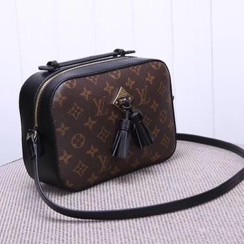 Louis Vuitton Women Fashion Leather Satchel Shoulder Bag Crossbody