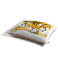 Casey Rogers Sleepy Tiger Pet Bed
