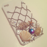 Mermaid Treasure iPhone Case by byElizabethSwan on Etsy