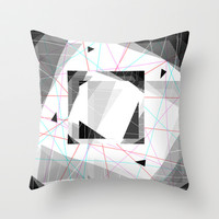 Asteroids Throw Pillow by Dood_L