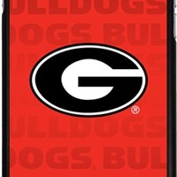 Georgia Bulldogs Repeating iPhone 6 Plus Thinshield Snap-On Case | UGA iPhone Case | Georgia Phone Covers