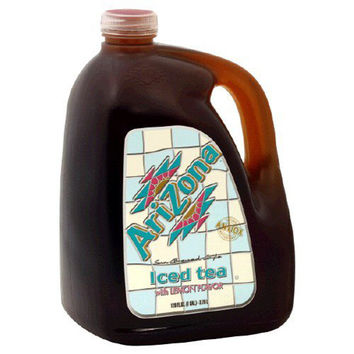 Arizona Tea Lemon Tea 128 Oz Gallon Pack of 4
