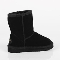 UGG Girls Boys Children Baby Toddler Kids Child Fashion Casual Short Boots