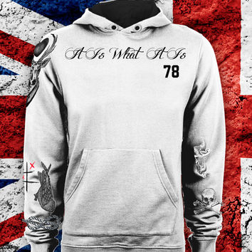 Louis Tomlinson UPDATED Tattoo One Direction Name Hoodie Unisex Adult! MOST RECENT 2014