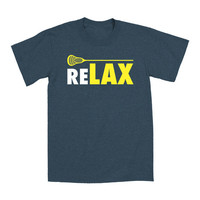 Heather Blue 'ReLAX' Tee - Toddler & Kids | zulily