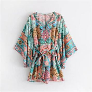 Womens beach rompers plus size