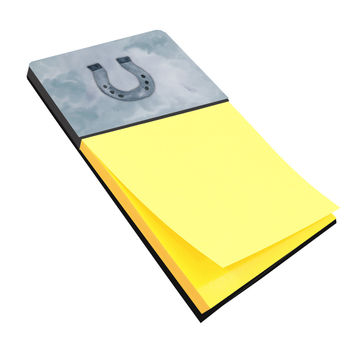 Horseshoe Watercolor Sticky Note Holder BB7370SN