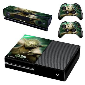 Star Wars: Episode VI - Return of the Jedi Vinyl Skin Cover Stickers Decal For Xbox One Console & Kinect & 2 Controller