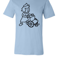 Wheelchair - Unisex T-shirt