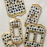 Dotted Ames Switch Plate by Anthropologie
