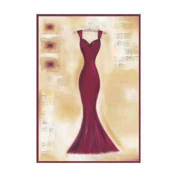Red Evening Gown I