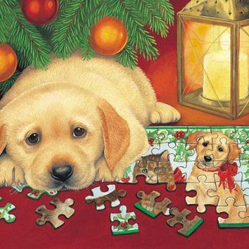 A Puzzle for Christmas 500pc Jigsaw Puzzle