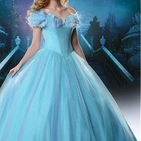 [129.99] Amazing Tulle & Organza Ball Gown Prom Dress With Butterflies & Rhinestones - Dressilyme.com