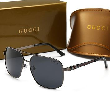 GUCCI Hot Fashion Men Woman Casual Summer Sun Shades Eyeglasses Glasses Sunglasses
