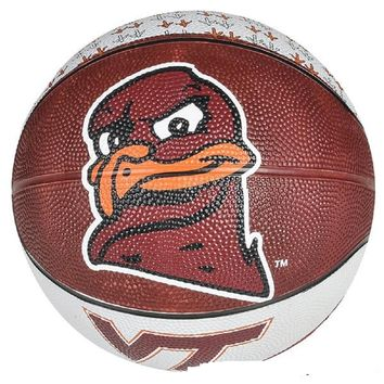 "7"" VIRGINIA TECH MINI BASKETBALL"