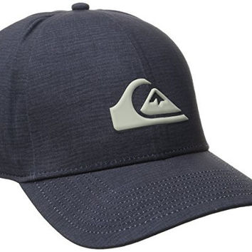 Quiksilver Men's AG47 M and with Bonded Amphibian Hat, Navy Blazer, One Size