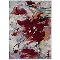 Blume Abstract Floral 5x8 Area Rug