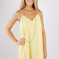 Steel Magnolias Dress - Yellow