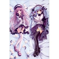 Anime Body Pillow Cute Girl , 13.4''x39.4'' Double-sided Design