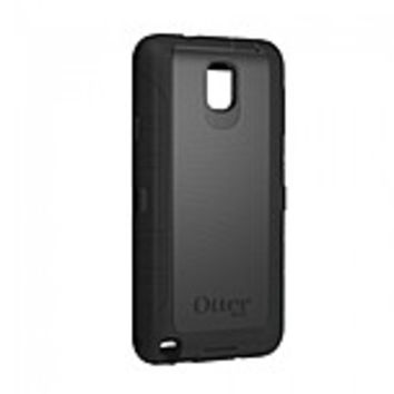 OtterBox Defender Carrying Case (Holster) for Smartphone - Black - Drop Resistant Screen Protector, Dust Resistant, Scratch Resistant, Impact Resistance, Bump Resistant, Shock Resistant, Damage Resistant - Silicone - Belt Clip