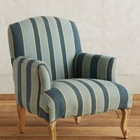 Cotton Dhurrie Dorrance Chair by Anthropologie