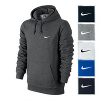 Nike Mens Club Pullover Fleece Hoody-Men's-Apparel- Modells.com